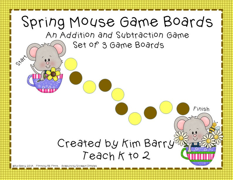 picture regarding Addition and Subtraction Games Printable named Addition and Subtraction Sport Message boards/Math Enjoyable/Math Facilities/Math Instrument/Math Game titles/Lecturers/Printables/Electronic Down load by means of Train K in direction of 2