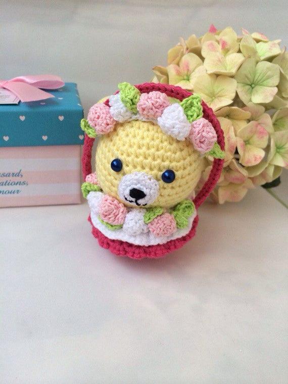 Gelb Hase Ostern Babyspielzeug Häkeln Ostern Hase Amigurumi Etsy