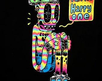 The happy one print
