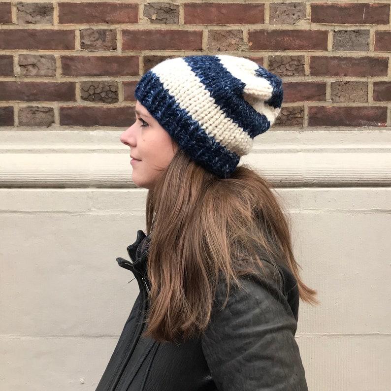 Hand Knit Winter Hat  The Williamsburg Beanie  Butterscotch