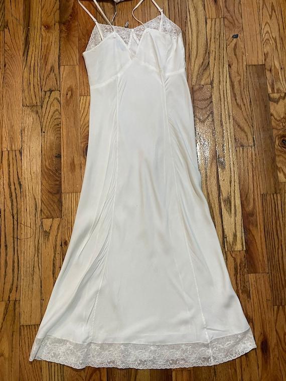 Stardust 1940s white slip - image 4