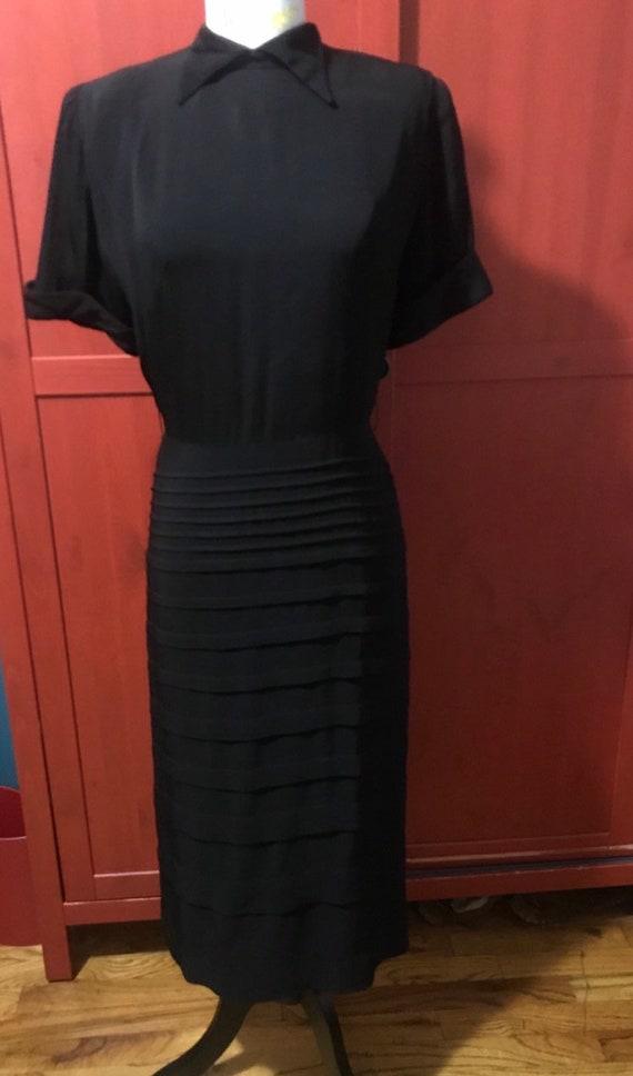 1940s little black dress