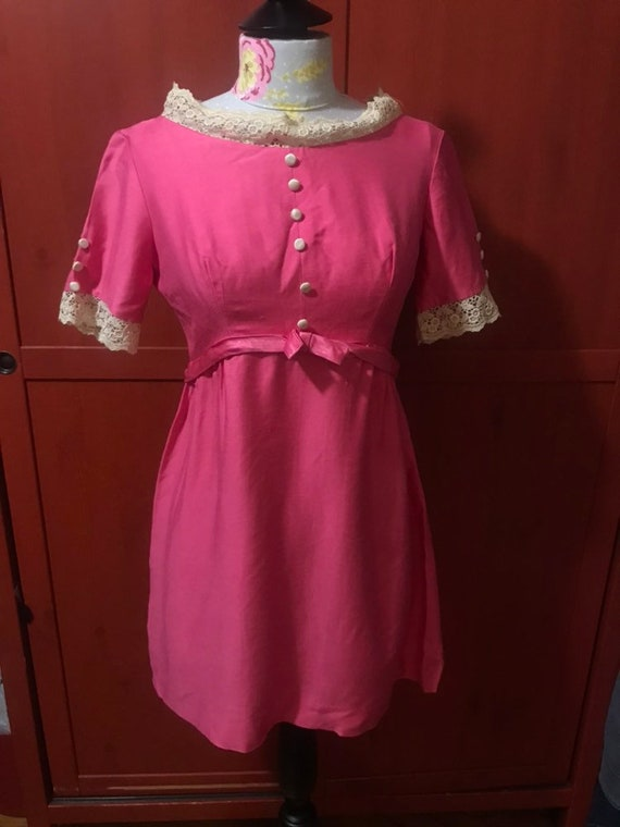 Bubblegum babydoll 1960s dress