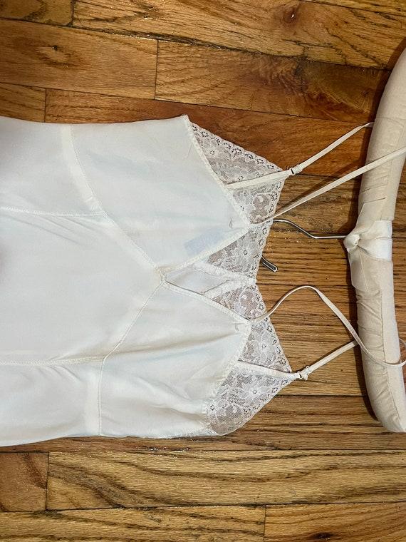 Stardust 1940s white slip - image 3