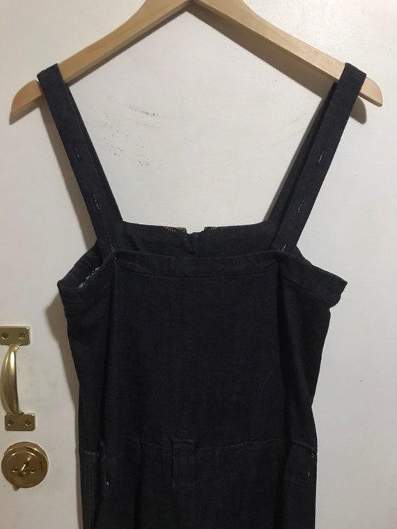 1970s handmade overalls jumpsuit - image 3