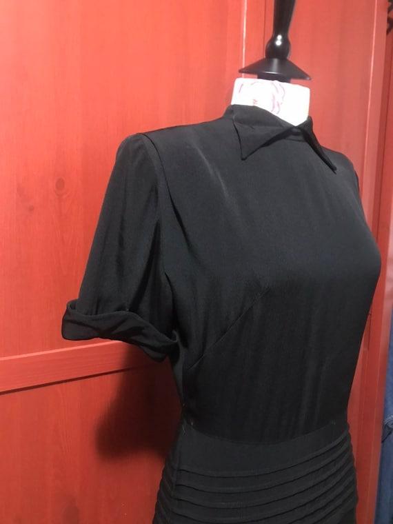 1940s little black dress - image 4