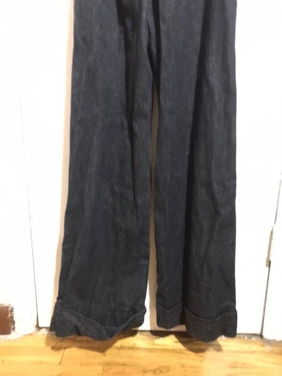 1970s handmade overalls jumpsuit - image 4