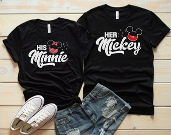 e4357bbaa8 Disney couple shirt