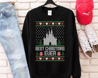 disney ugly christmas sweater disney shirt disney sweatshirt christmas gifts disney trip disney christmas shirts holiday gifts - Disney Christmas Sweaters