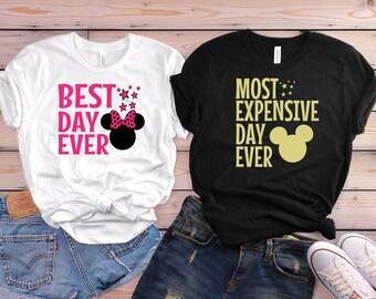 Disney couple shirts, Disney matching shirts, Disneyland matching shirts, Disney vocation, Disney trip, Disney gift, Disneyland couple shirt