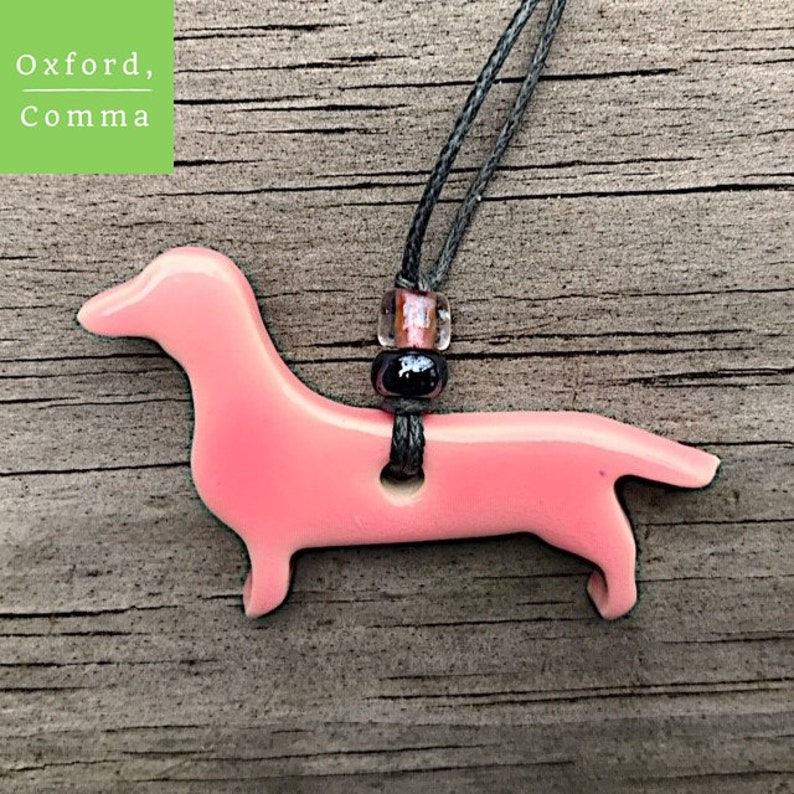 clay tag doxie tag dachshund ornament gift tag favor tag mini ornament dachshund gift mini dachshund tag