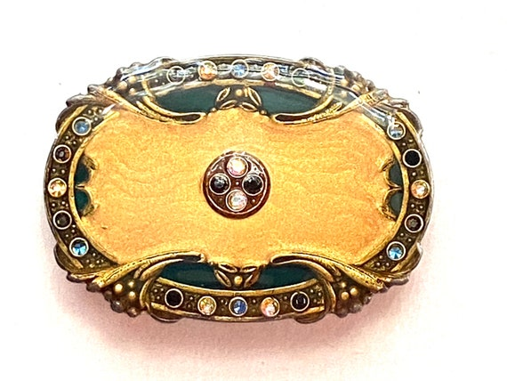 Pierre Bex French Art Deco Resin Revival Brooch