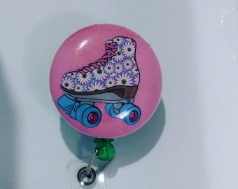 Roller skates badge holders