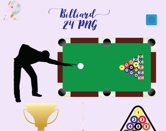 Billiard Clipart Pool Game Clip Art Snooker Games Billiards Balls Cue Ball