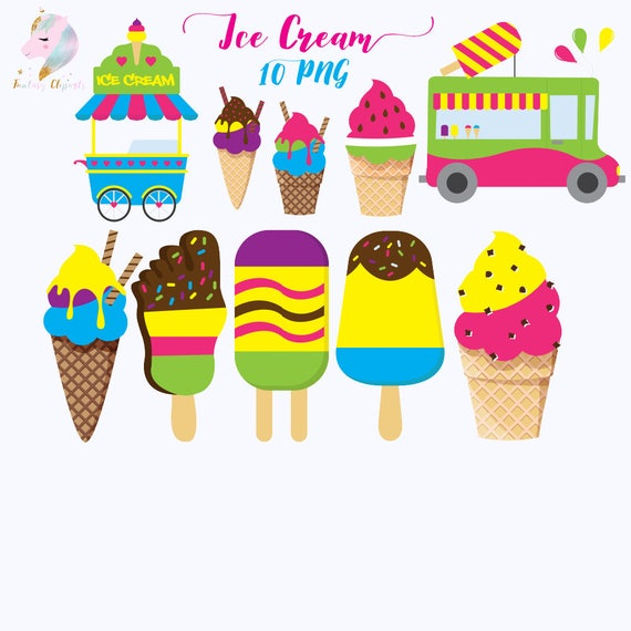 Ice Cream Vector Illustration. Gelato Cartoon Collection. Kids.. Royalty  Free Cliparts, Vectors, And Stock Illustration. Image 70887306.
