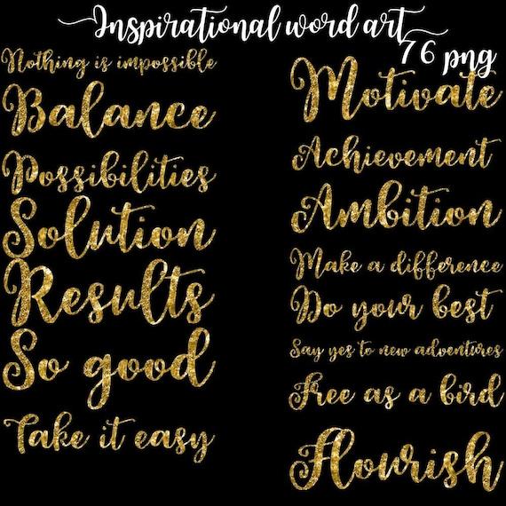 inspirational words encouragement word motivation word art etsy