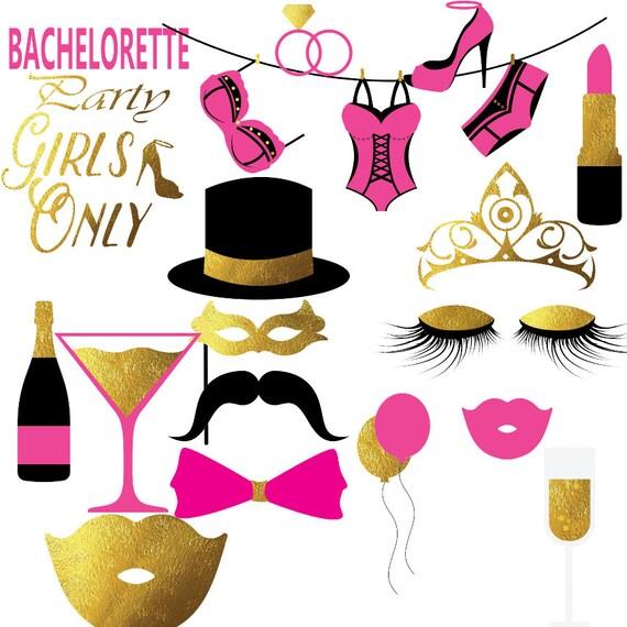 bachelorette clipart hen party clip art bra clipart etsy rh etsy com