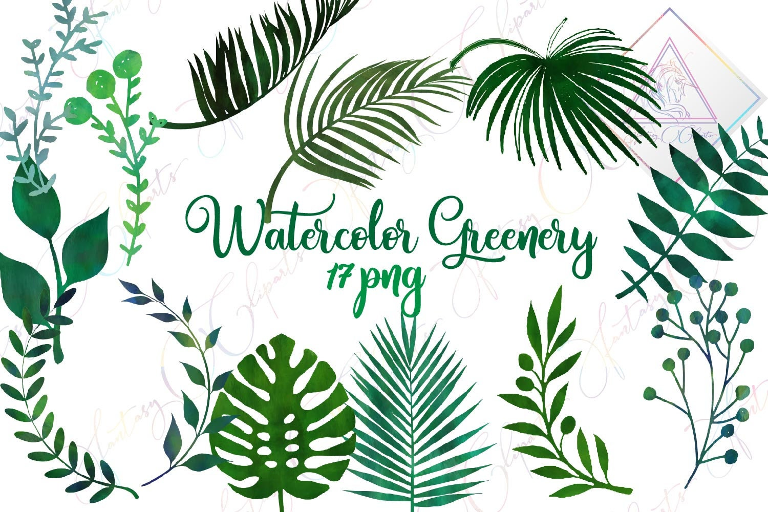 6c791884cee7 Watercolor greenery leaves clipart tropical summer palm etsy flower summer  beach watercolor tropical png jpg 1500x1000