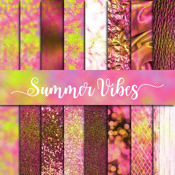 Summer Vibes Texture Abstract Textures Pink Backgrounds Digital