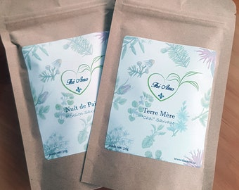 Combo, Immunity, Anxiety, Mother Earth, Silent Night, Calming and immunity boost, 25gr each