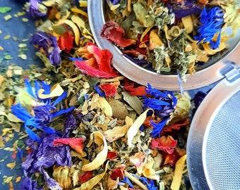 Feminine Balance- Sacred Feminine- Herbal Tea-Womens Health- Nettle, Calendula, Ginko, Raspberry leaf,25g