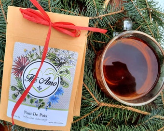 Spread the love- Partagez l'amour- 2 tea duos to share-7g each