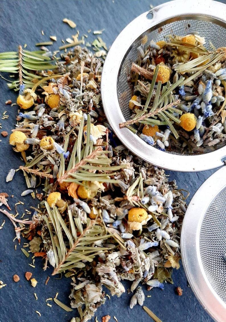 Chamomile Herbal tea Wild herbal blend Lavender Chamomile image 0
