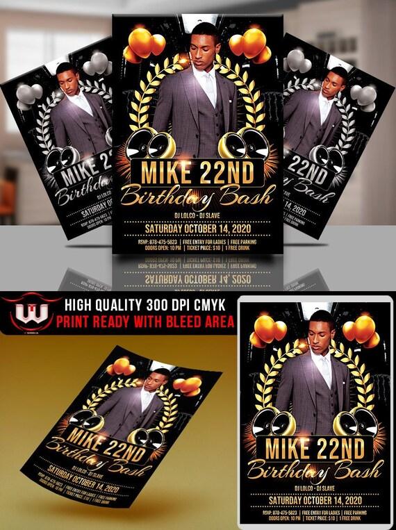 Adult Birthday Party Invitation VIP Invitations