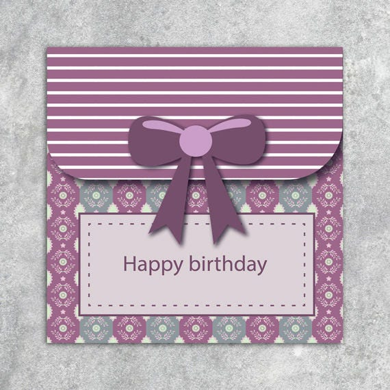 Printable Or Virtual Card ECard E Birthday Both Jpg Png English French Instant Download