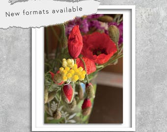 poster photography provence poppy poster printable decoration instant download A1 A2 A3 A4 A5 16 x 20 18 x 24 24 x 36 50 x 70 60 x 90