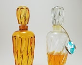 Matchabelli Wind Song Cologne Vintage Collector 39 s Edition Glass Decanter Bottle and Factice