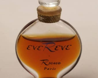 Vintage 1950's Rigaud Eve Reve 0.25 oz