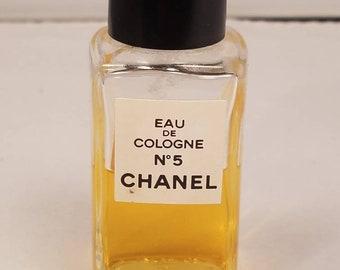 Vintage Chanel 5 eau de cologne 2.0 oz
