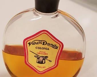 Vintage Parera Espana Varon Dandy Eau De Cologne 1oz