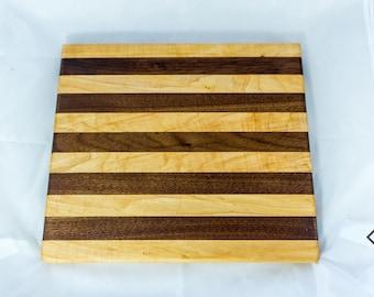 Augustus - Maple and Walnut Cutting Board