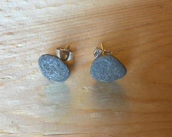 Lake Superior Pebble Earrings