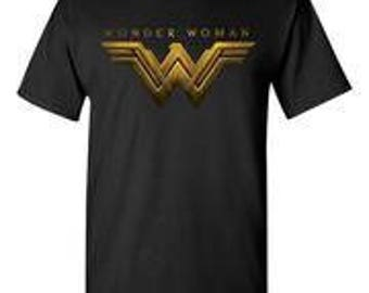 Wonder Woman Black T-Shirt