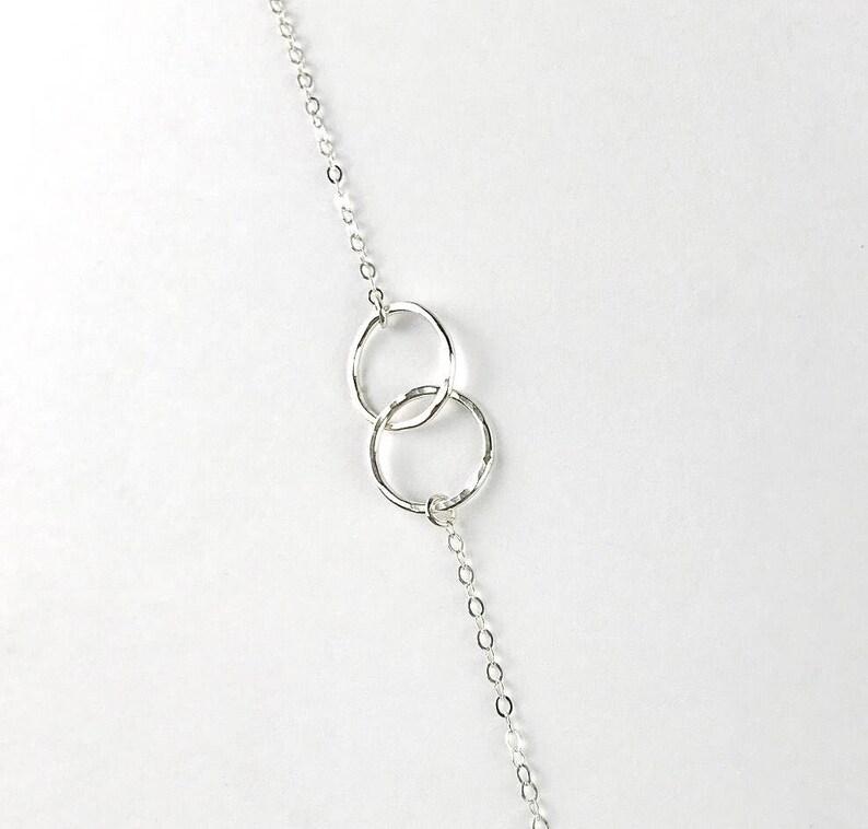 Friendship bracelet Gift for her Infinity bracelet Gold filled or Sterling silver Gift Eternity bracelet Unity link bracelet Dainty