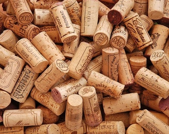 All Natural, Used Wine Corks - Perfect for Crafting Projects & Crafting Supplies!