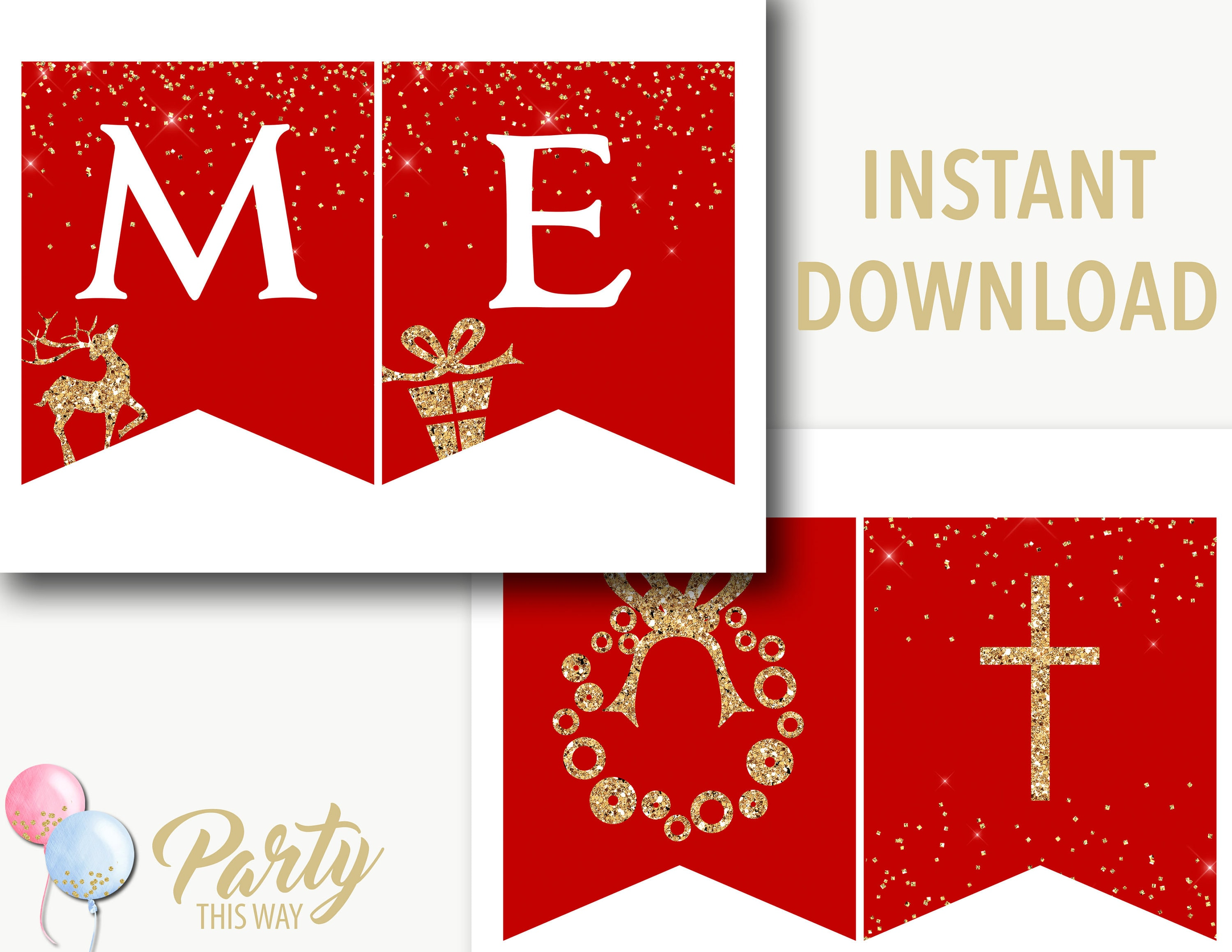 photo relating to Printable Merry Christmas Sign identify Merry Xmas banner printable/Merry Xmas signal/Purple and gold xmas decoration/printable xmas decorations/