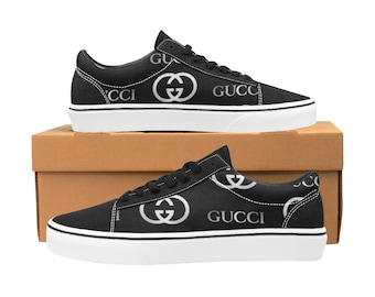 3c964ea7c92 Men s Gucci Inspired Skater Shoes