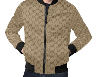 f9a65e42c20 NEW HOT Gucci Jacket Men s Gucci Inspired Bomber Jacket