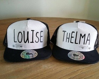 Best Friend Thelma & Louise Hat Set