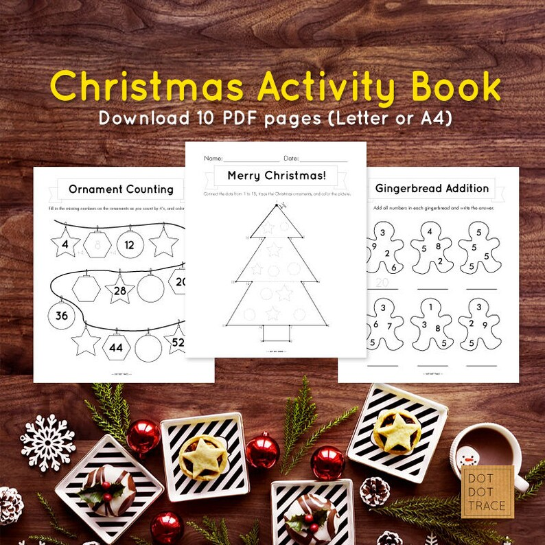 image regarding Printable Books for 2nd Graders identify Printable Xmas Game E-book Printable Xmas Worksheets for youngsters Xmas Game E book for 2nd quality Homeschool PDF obtain