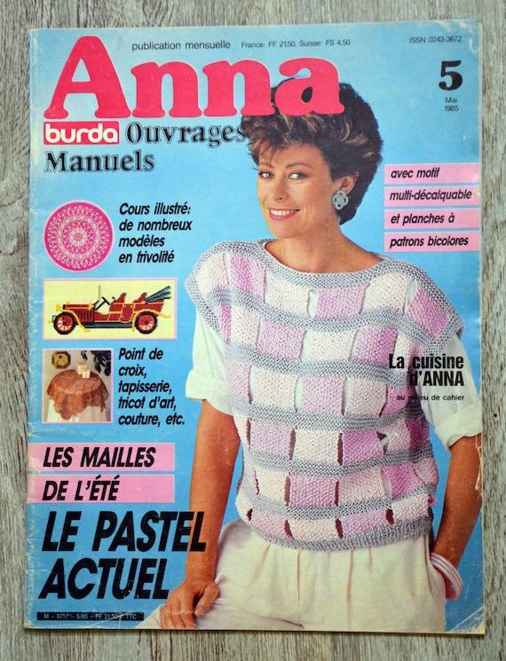 Anna Burda Zeitschrift Manuelle Bücher 11 Burda Magazin Chef Etsy
