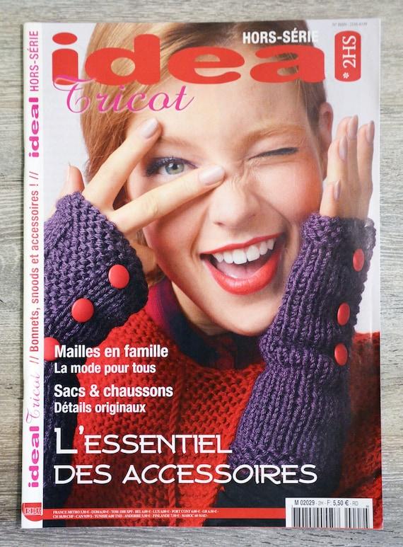 Magazine Idéal tricot 2HS -  Accessoires, magazine tricot, patron tricot,  accessoires tricotés, tricot hiver, explications tricot 8f45d5240019