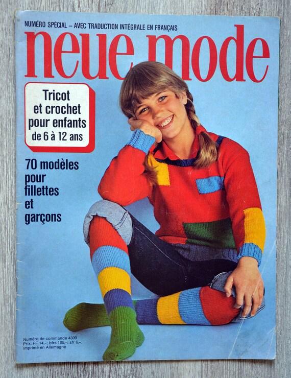 Zeitschrift Neue Mode Stricken Und Häkeln Für Kinder Etsy