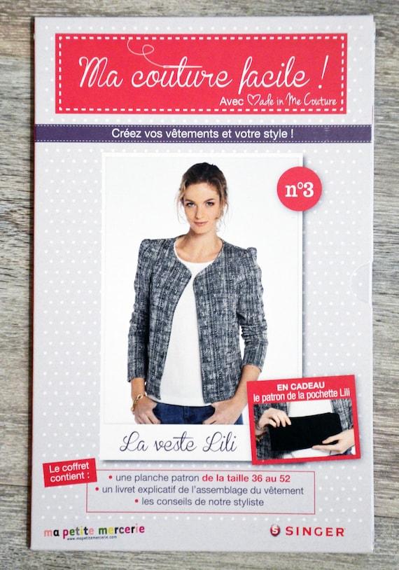Patron Ma couture facile 3 / La veste de Lili patron   Etsy