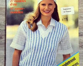 Knit 3 Swiss - summer (Vintage) magazine