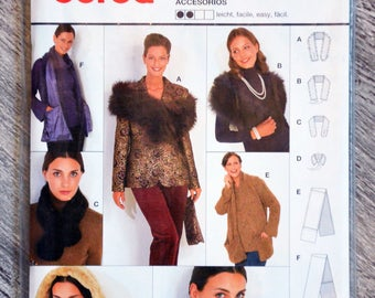 Pouch pattern Burda 8723 - winter accessories
